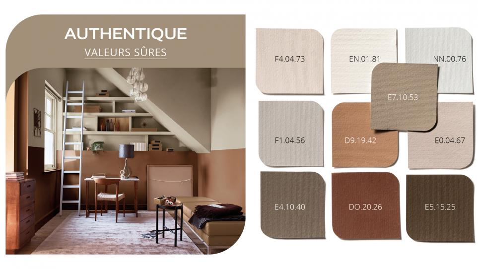 Palette Authentique