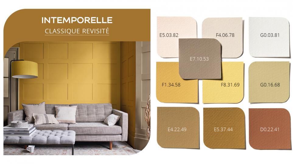 Palette intemporelle